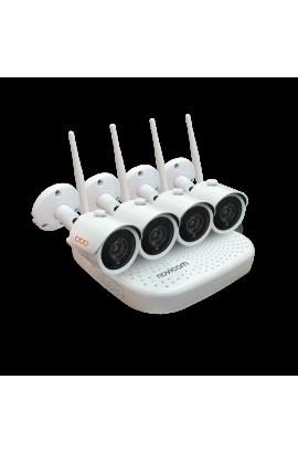 WiFi комплект видеонаблюдения WIFI KIT 1204 NOVIcam v.4410