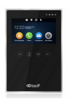 BasIP AZ-04 (Black) Монитор индивидуальный IP