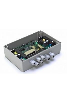 6-портовый гигабитный управляемый уличный коммутатор для подключения 4 камер TFortis PSW-1G 4F