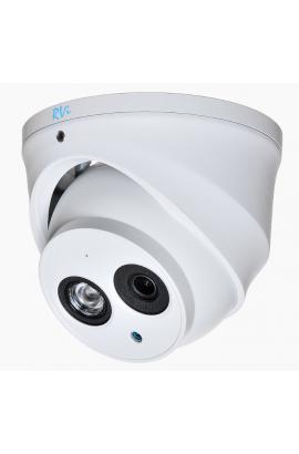 Антивандальная купольная IP камера RVi-IPC38VD (4 мм)