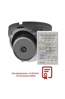 AHD камера для транспорта SOWA T221-21 (БЕЗ ИК)